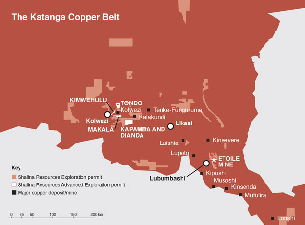 Exploration Katanga Copper Belt
